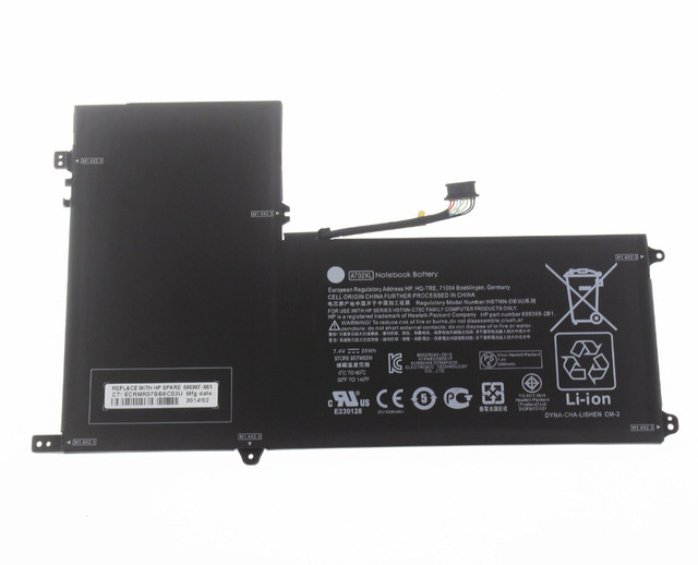 7.4v 25wh computers Battery At02xl for Hp Elitepad 900 G1 Table Hstnn-c75c Hstnn-ib3u At02025xl D3h85ut Hstnn-db3u