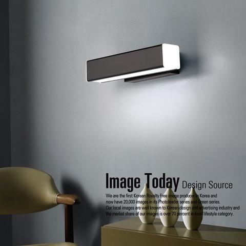 nordico moderno lampada parede led aluminio