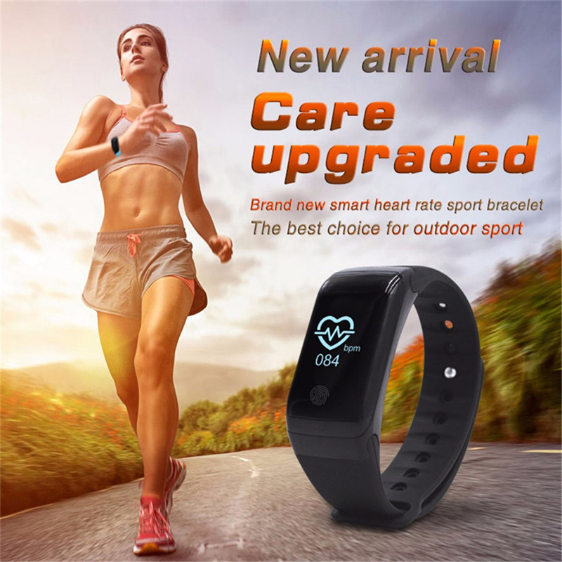 X7 Bluetooth 4.0 Sports Smartband Passometer Heart Rate Tracker Temperature Pressure Monitor Call Reminder Bracelet Smart Band