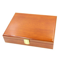Free Shipping Luxury Cufflinks Gift Box Cufflinks box High Quality Painted Wooden Box Authentic Jewelry Carrying Case