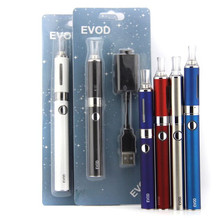 e cigarettes evod blister kit 1100mah evod battery with replaceable coil atomizer electronic cigarette ego evod vape kit