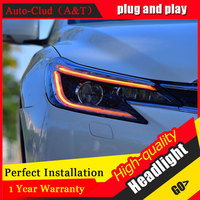 Auto Clud Car Styling For Toyota Reiz Headlights 2013 2014 For Toyota Reiz Head Lamp Front