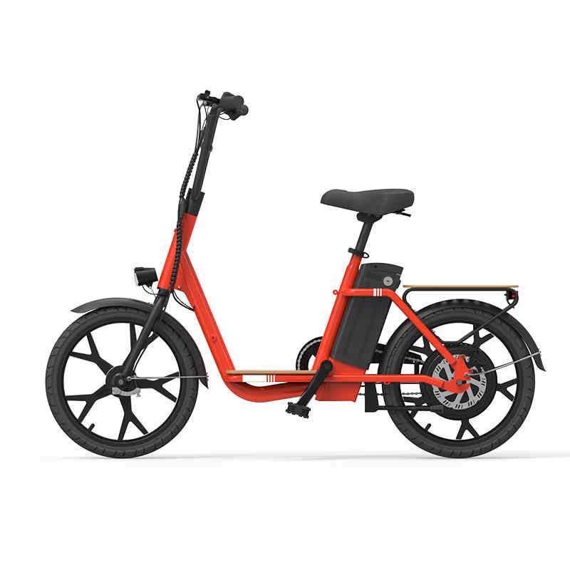 Polegada bicicleta elétrica 36 18 V família Pai-filho de multi-função 300 w bicicleta elétrica do motor da roda traseira a mobilidade urbana e moto-