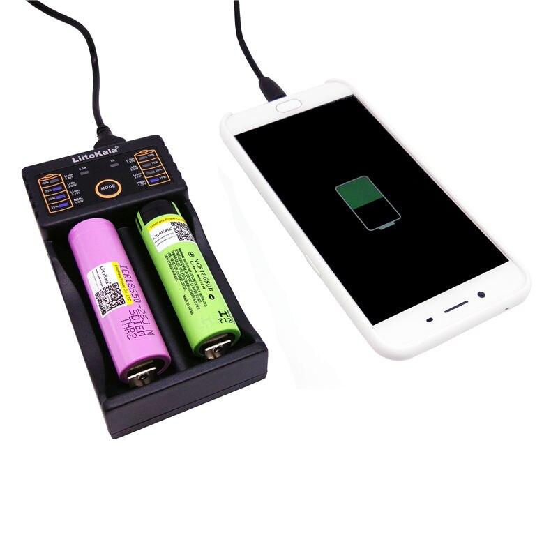 Зарядное устройство Liitokala Lii-202 18650 1,2 В 3,7 В 3,2 В 3,85 В AA / AAA 26650 10440 14500 16340 25500 интеллектуальное зарядное устройство lii202