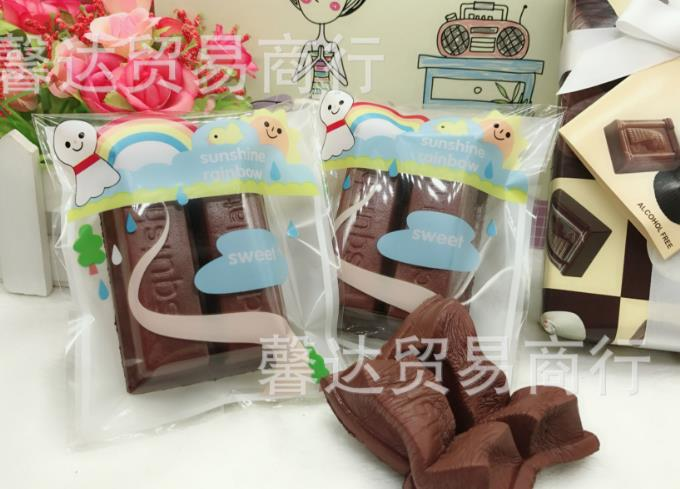 20pcs lot8*6CM rare squishy chocolate food  slow rising Simulation toy (  squishies food toy wholesale)