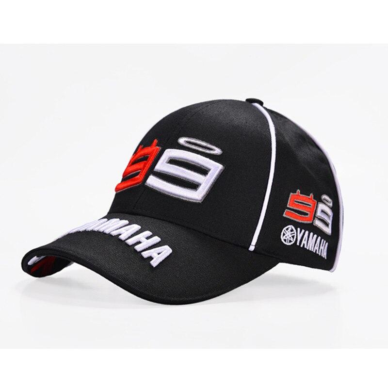 2019 Newest F1 MOTO GP Jorge Lorenzo Embroidery 99 YAMAHA Cap Motorcycle Racing Baseball Cap Gorra Sport Snapback Hats