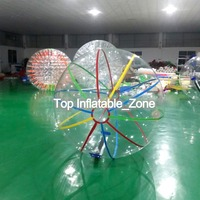 Free Shipping Dia 2m Inflatable Water Ball,Human Hamster Ball,Water Walking Ball,Zorb Ball On Sale