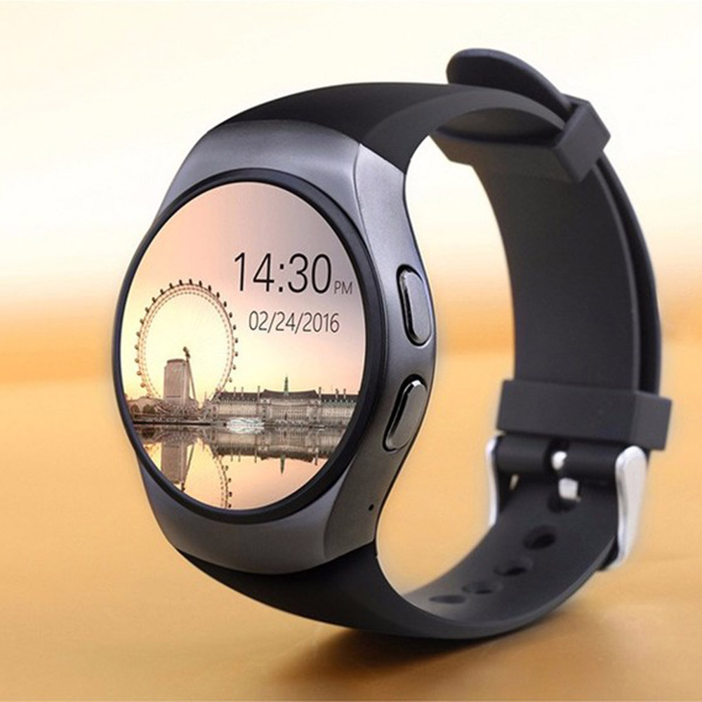 KW48 Bluetooth Smart Watch Phone Full Screen Support TF SIM Card Smartwatch Heart Rate for VIVO