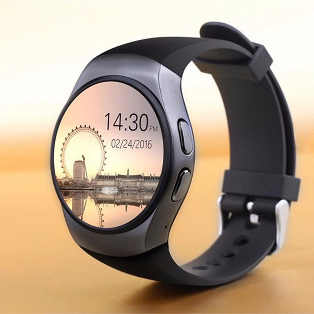 KW48 Bluetooth montre intelligente téléphone Support plein écran TF carte SIM Smartwatch fréquence cardiaque pour VIVO X9Plus X7 X7Plus Xplay6 Xplay5