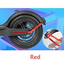 Parafango posteriore Parafango Supporto Supporto Per Xiaomi Norma Mijia M365 Scooter Elettrico di Protezione Posteriore del Cavo Della Luce Staffa di Ricambio Parti