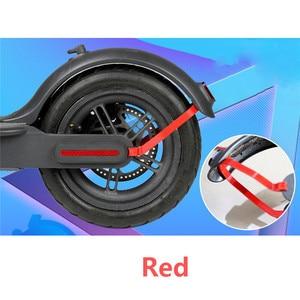 Image 1 - Заднее крыло держатель поддержки для Xiaomi Mijia M365 электрический самокат защита задний свет кабель сменный кронштейн запчасти