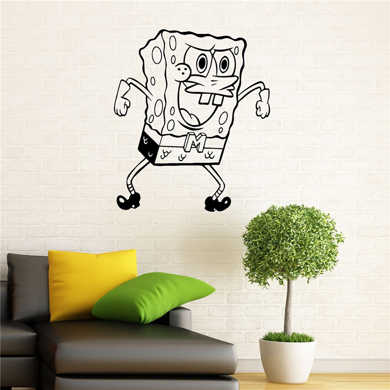 Popular Spongebob Wall DecalsBuy Cheap Spongebob Wall Decals Lots - Spongebob room decals