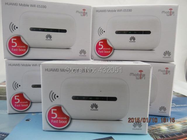 РАЗБЛОКИРОВАНА Huawei E5330 21.6 Мбит 3 Г Мифи мобильного широкополосного доступа (hotspot Wi-Fi маршрутизатор N