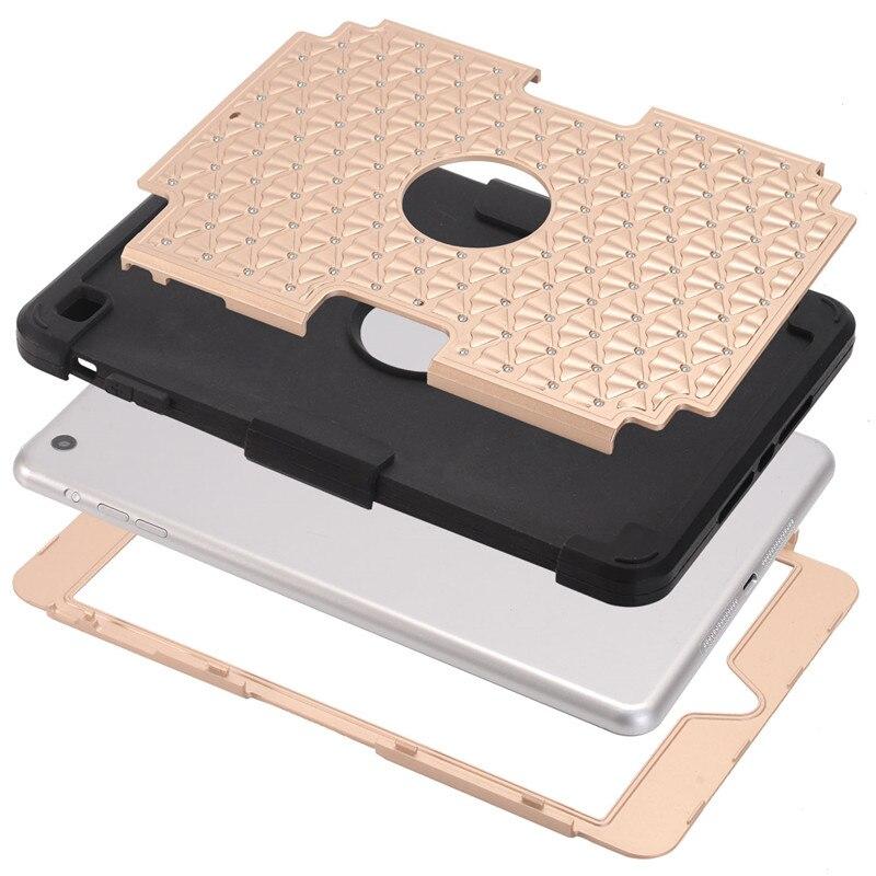 Coque iPad Mini Cover Case 2016 üçün rəngarəng hibrid zirehli - Planşet aksesuarları - Fotoqrafiya 4