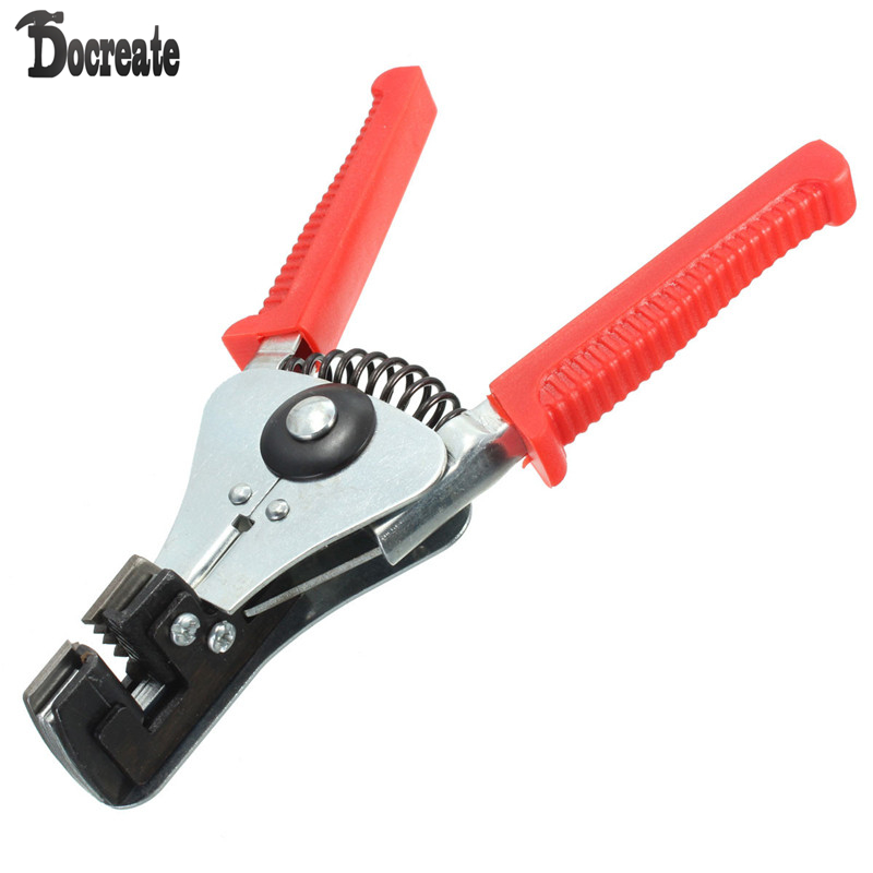 Automatic Cable Wire Stripper Stripping Crimper Crimping Plier Cutter Tool gr59 6 7 11 universal wire stripper multi purpose cable stripper cable wire jacket stripper cable cutter stripping scissors tool