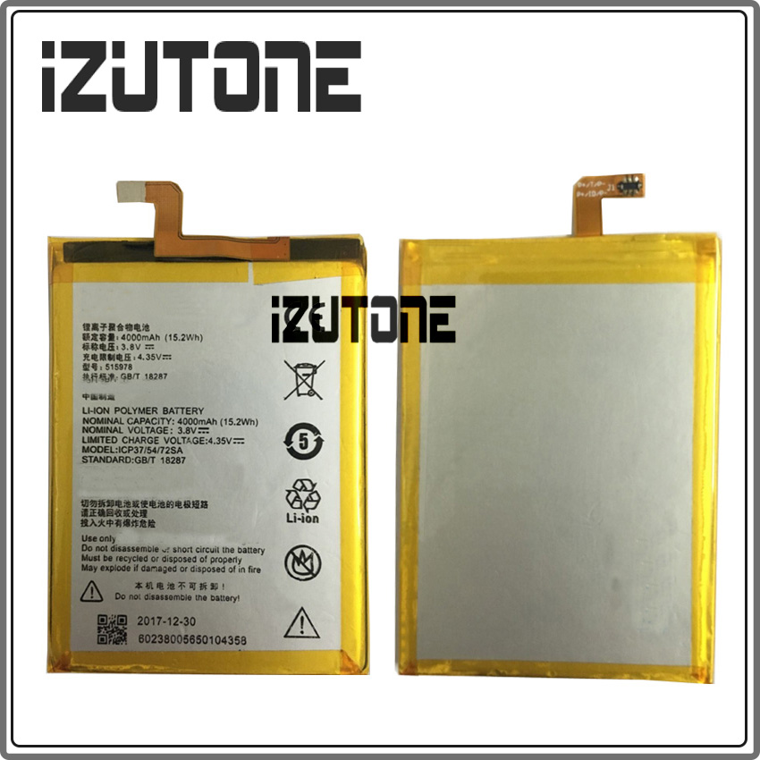 100% Warranty E169-515978 4000mAh Battery For ZTE Blade X3 D2 Q519T A452 Bateria Accumulator by free shipping