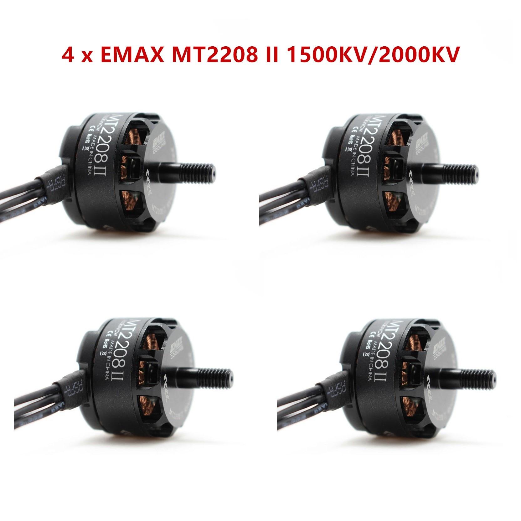 Original EMAX MT2208 II 1500KV/2000KV CW CCW Brushless Motor For RC QAV250 F330 Multicopter