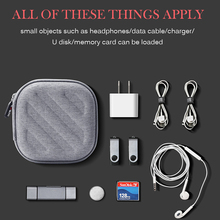 USB Data Cable Bag Portable Mini Earphone Wire Storage Box Case Protective Digital Gadget Devices Storage Organizer Travel Bags