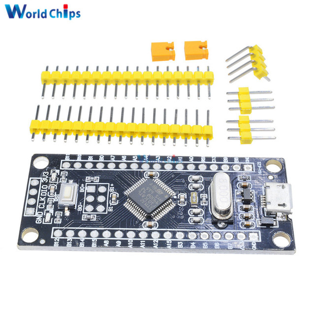 US $1 84 15% OFF STM32F103C8T6 ARM STM32 Minimum System Development Board  Module For Arduino Micro USB controller ARM Learning Board-in Integrated