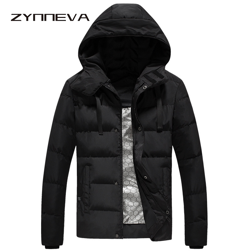 Zynneva New Intelligence Heated Jackets Men Women Winter Warm Hooded Heating Clothing 3 Modes Temperature Adjustable Coat Gk6105