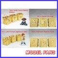 FÃS MODELO DT Reimpressão instock Frete grátis ouro saint Seiya Pandora Metal caixa VOL1 VOL2 VOL3 VOL4
