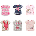 New 2017 Quality 100% Cotton Brand Baby Girls T-Shirt Summer Clothing Children Tees Kids Clothes Short Sleeve t Shirt Baby Girls