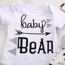 3PCS Set Newborn Infant Baby Clothing Set