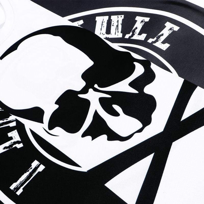 3d Manches T Mode shirt décoloration Courtes Tendance Impression Crâne Hommes Marque Respirant D'été peluche Anti Casual Dxt18 Anti Mogai À d4qfd