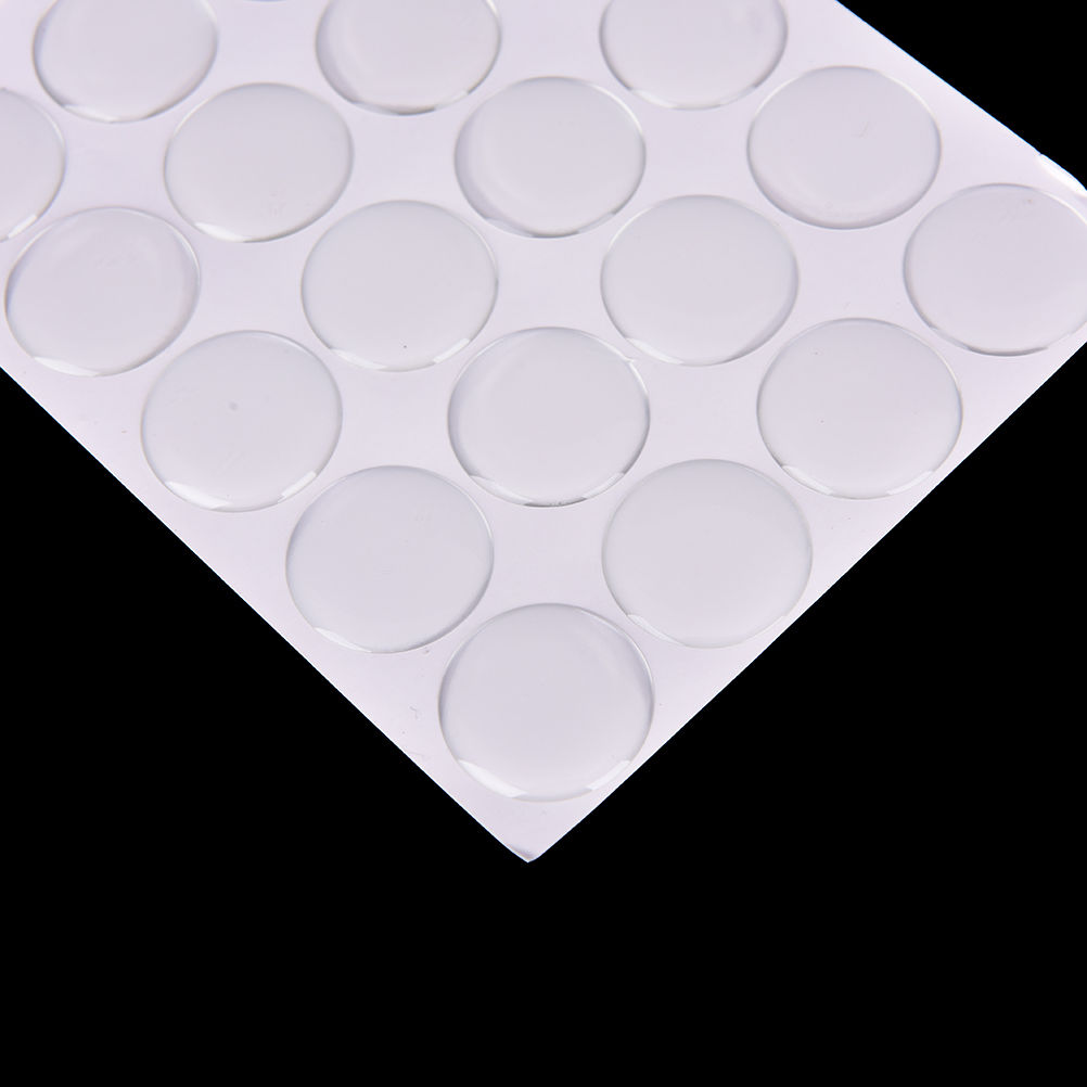 100x Clear Epoxy Resin Dome Stickers 50mm 2 Inch Self Adhesive Bottle Caps