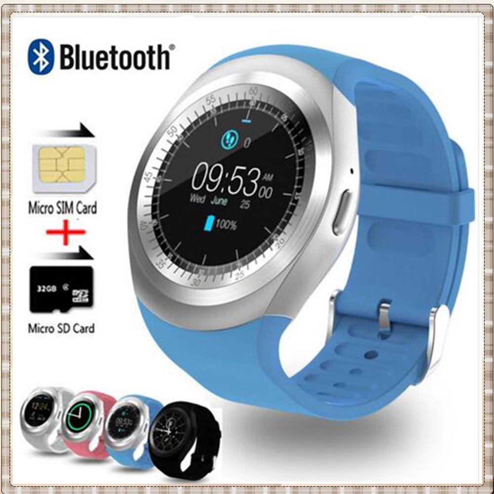 "MKUYT Y1 Smart <font><b>Watch</b></font> 1.54"" Touch Screen Fitness Activity Tracker Sleep Monitor <font><b>Pedometer</b></font> Calories Track <font><b>Support</b></font> <font><b>SIM</b></font> Card Solt"