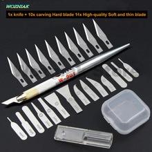 Wozniak IC chip de Alimentación de la Placa de cuchillo De Goma pala PCB Cuchillos de hoja delgada para la Reparación de iphone teléfono Móvil CPU RMA herramienta