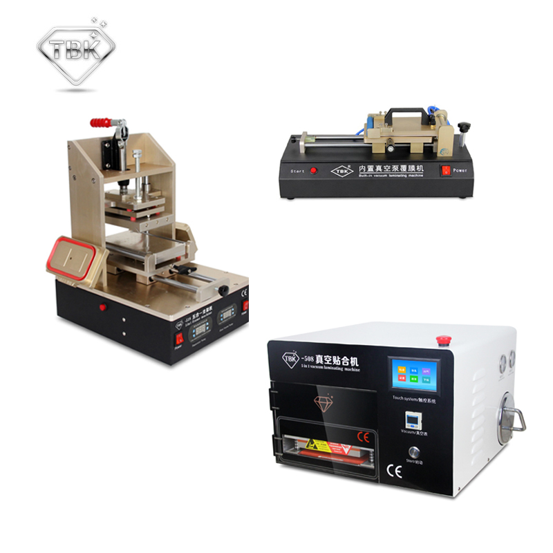TBK LCD repair equipment 5in1 Frame Laminating Machine+ TBK-508 5 In 1 OCA Vacuum Laminator Machine+OCA Film Laminating Machine 1pc universal auto oca film laminating machine polarizing film protective film laminater