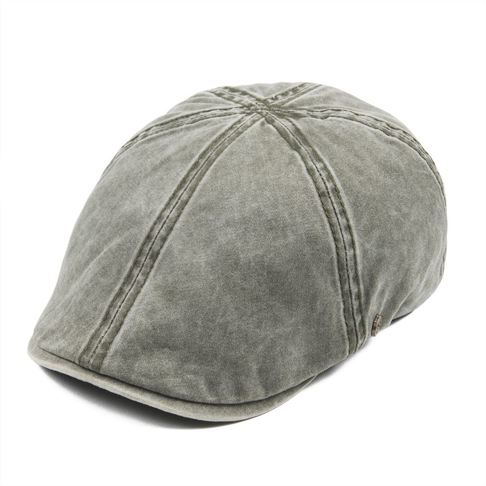 c0f7f43a VOBOOM Washed Cotton Flat Cap Men Newsboy Caps Cabbie Hat Male Ivy Flat Hat  Lightweight Gatsby Beret Driver Boina 157