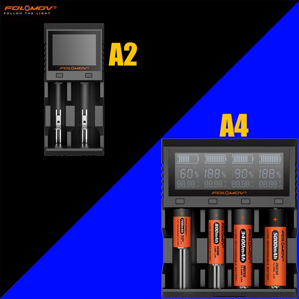 Folomov A2 / Folomov A4  Intelligent Rapid Charger Li-ion/LifePO4, NiMH/NiCd Charger