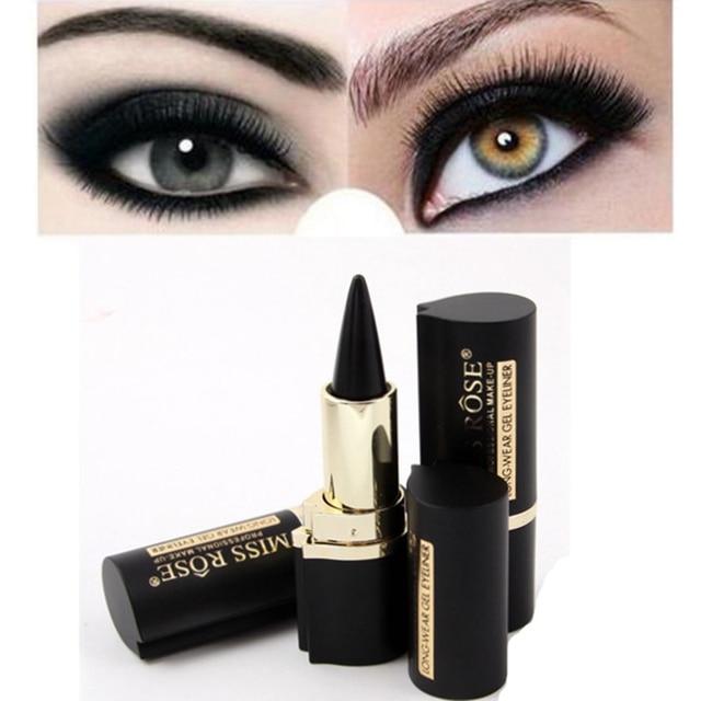 Black Eyeliner Pen Black Waterproof Eyeliner Paste Eye Liner Pencil Gel Eye Makeup Beauty Natural Tattoo Eyeliner Stickers