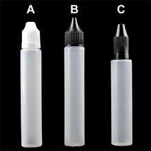 PE Frasco de Líquido, caneta, Garrafa de 15 ml, 30 ml para Cigarros Eletrônicos suco de E-