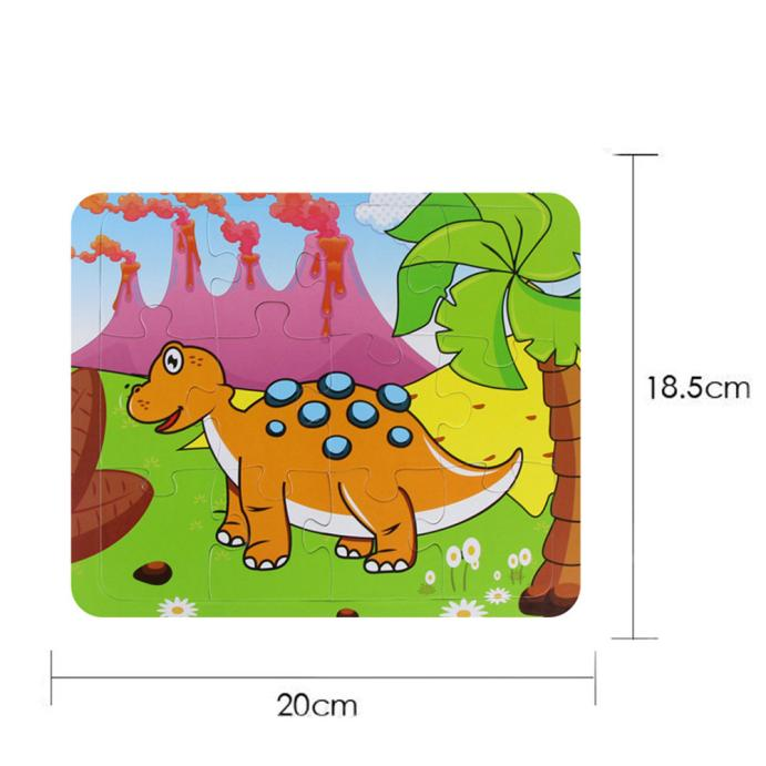 Hiinst Drop shipping Kids Education Magic Water Draw Learning Puzzles Toys Wooden Animal Jigsaw Toys*R hot sale