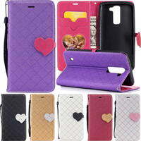 Flip Phone Case For LG K8 2017 K 8 2017 Cell Leather Silicon Cover For LGK8