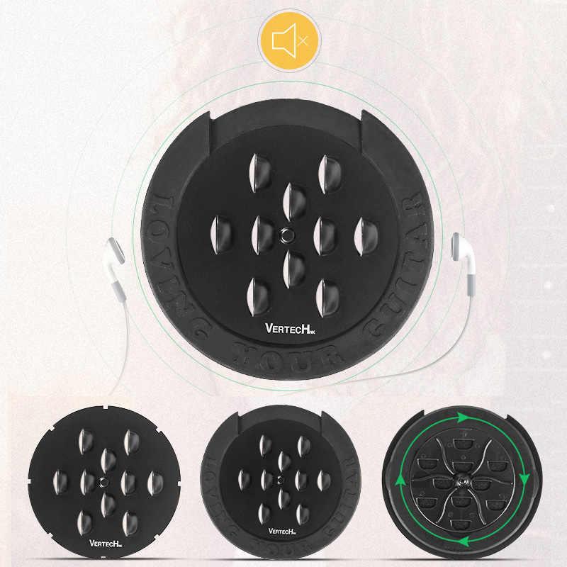 Kalaok VERTECHnk SKY-85 Guitar Sound Hole Igrometro digitale e umidificatore Sistema di copertura del foro del suono Dia.85mm per chitarre acustiche EQ Classic