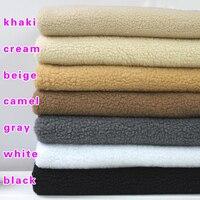 Шерпа руно овечьей Мех животных Ткань берберский флис искусственная шерсть свитер лайнер ткань подкладки 60