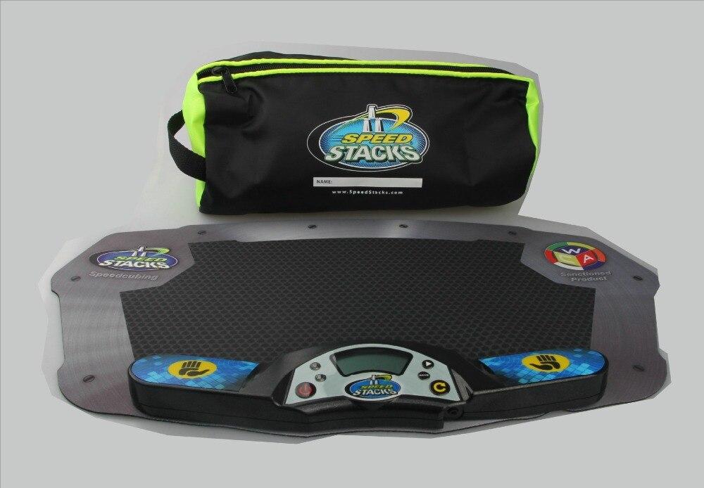 3 ensembles/lot SS professionnel minuterie horloge Machine pour vitesse Puzzle Cube accessoire pour jeu de compétition volant pile Pack Mat