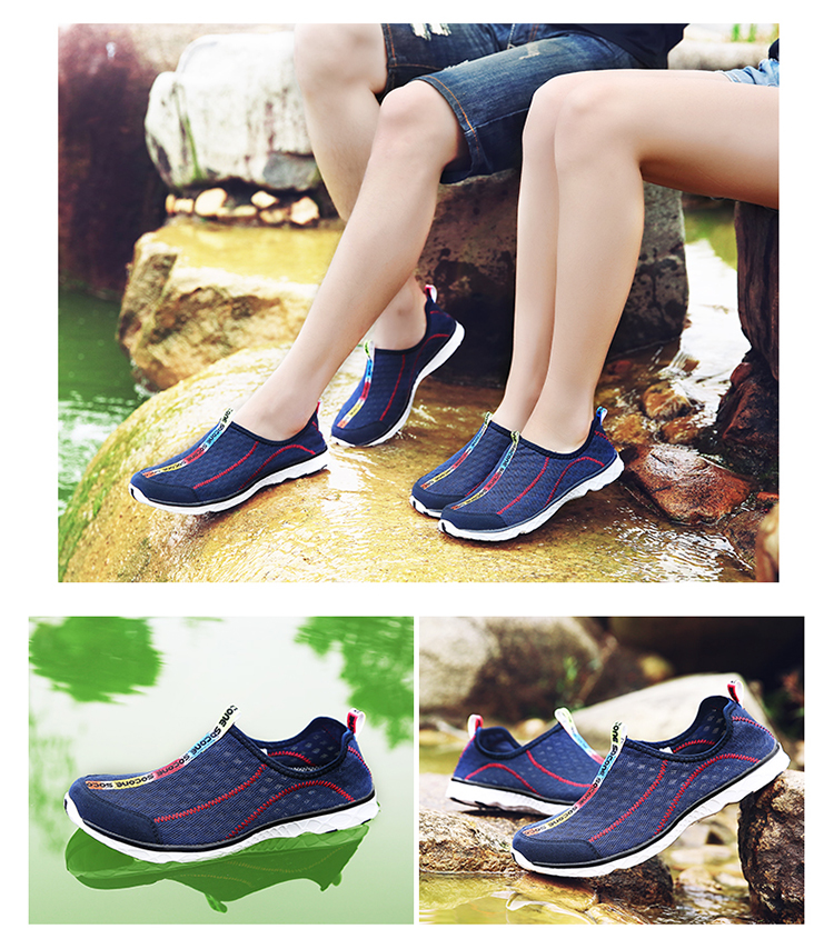 2017 6Colors Mens Shoes Breathable Mesh Women Aqua Shoes Walking Super Light Summer Women Slip On Shoes Men Water Beach Shoes (6)