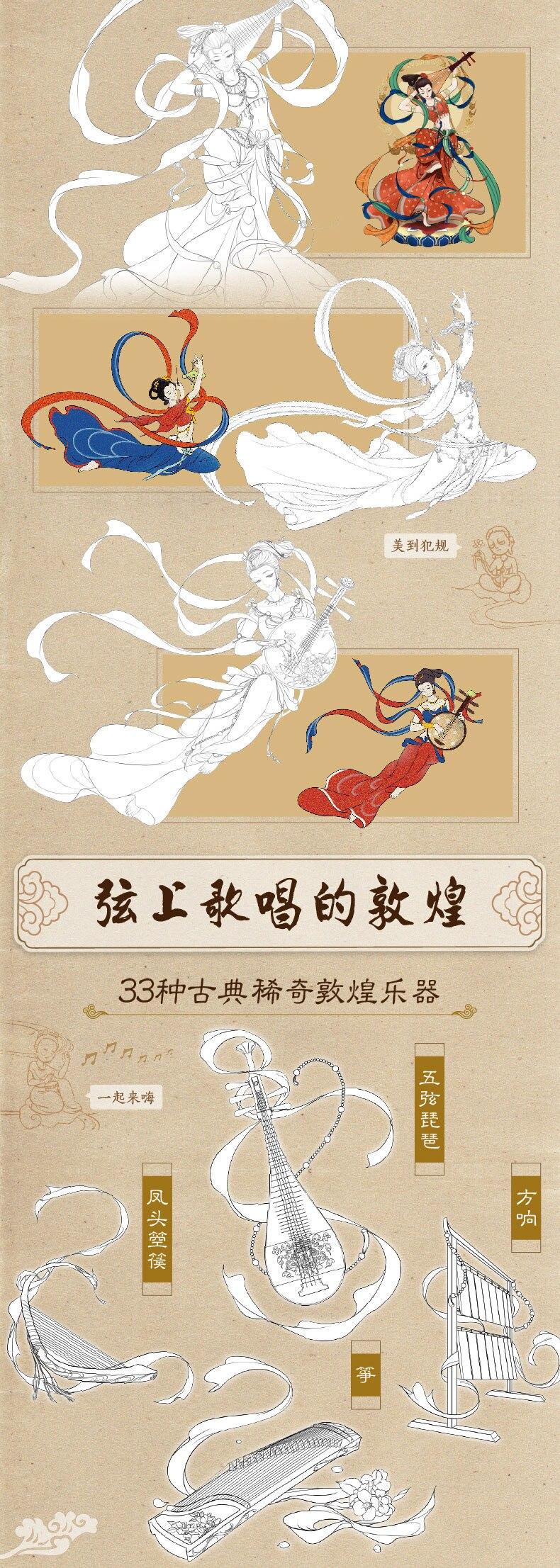 Linha de Desenho Livro Antigo chinês Livros