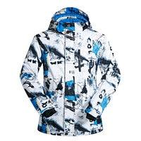 Ski Jacket Men Brands Windproof Waterproof Breathable Male Snow Jacket Hiking Winter Jacket Men Skiing and Snowboarding Clothes
