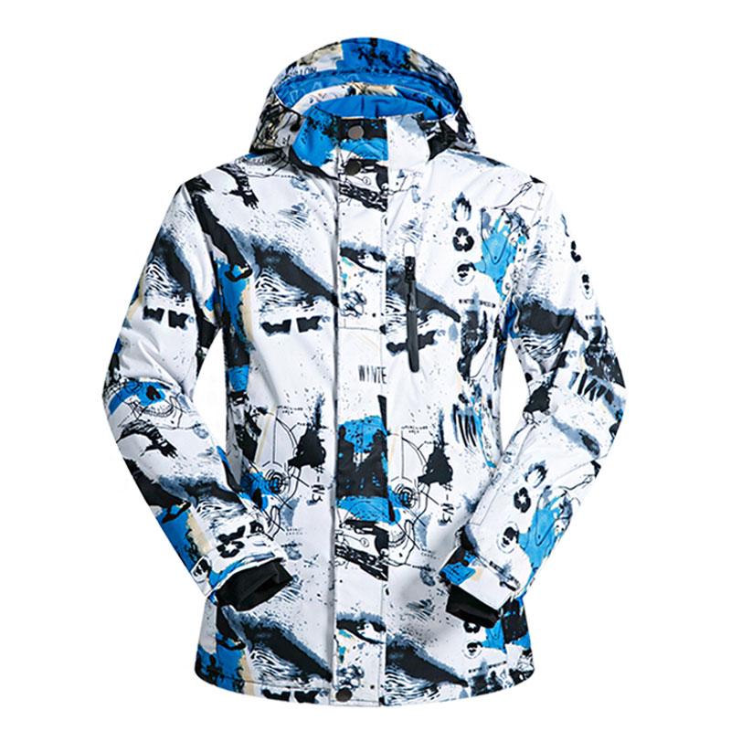 Veste de Ski hommes marques coupe-vent imperméable respirant homme veste de neige randonnée veste d'hiver hommes Ski et snowboard vêtements