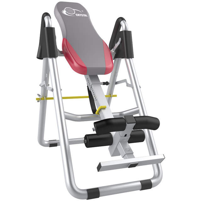 US $352 5 6% OFF|Adjustable Folding handstand machine/ Inversion Table with  handbrake Stable and safe Weight load 300kg Reduces back stress-in Sit Up