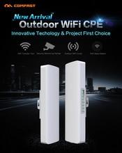 Comfast wifi Inalámbrico al aire libre CPE CF-E214N-V2 WIFI amplificador de señal de 3-5 km de red de monitoreo CPE cliente receptor