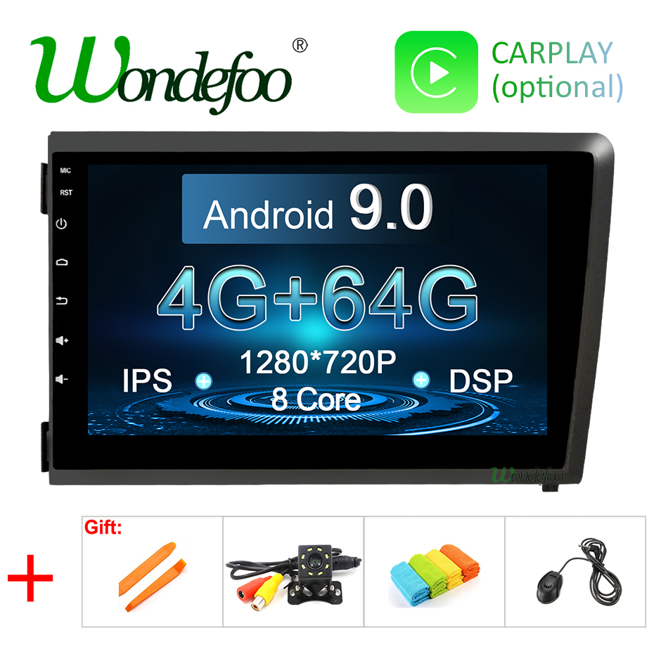 8 4G DSP IPS Android 9 0 4G 64G CAR Radio For Volvo S60 V70 XC70