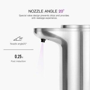Image 3 - Автоматический диспенсер для мыла SVAVO280ml, инфракрасный сенсор, Бесконтактный дезодорант для ванной комнаты, регулируемый громкость, диспенсер для кухни