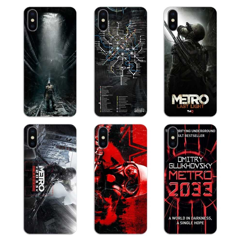 Silicone Case Game Poster Metro 2033 Print Ultimate Edition For